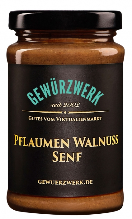 Pflaumen-Walnuss Senf
