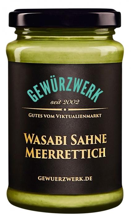 Wasabi-Sahne-Meerrettich
